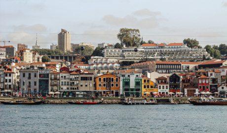 Douro river view in Porto
